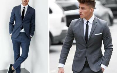 Vyriškas stilius: švarkas ir juodos kelnės?